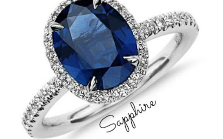 COLORED GEMSTONE INSTEAD OF A DIAMOND IN AN ENGAGEMENT RING?