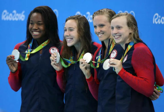 Rio Olympic Medals Ladies Swimming2 1 570X391